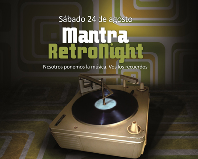 Foto del evento Tercera edición de ''Mantra Retro Night''